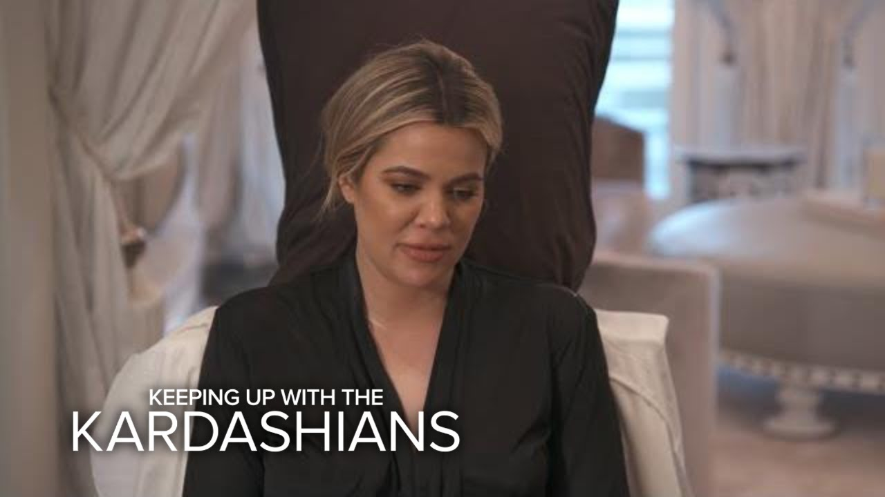 KUWTK | Khloé Kardashian Gets a Cast Made of Her Pregnant Belly | E! 3