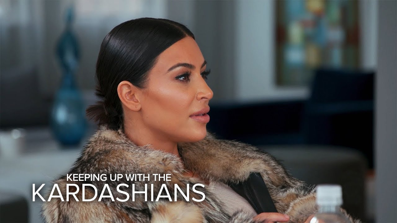 "KUWTK | Kim Kardashian Calls Caitlyn a ""Liar"" Over Her Book | E! 1"