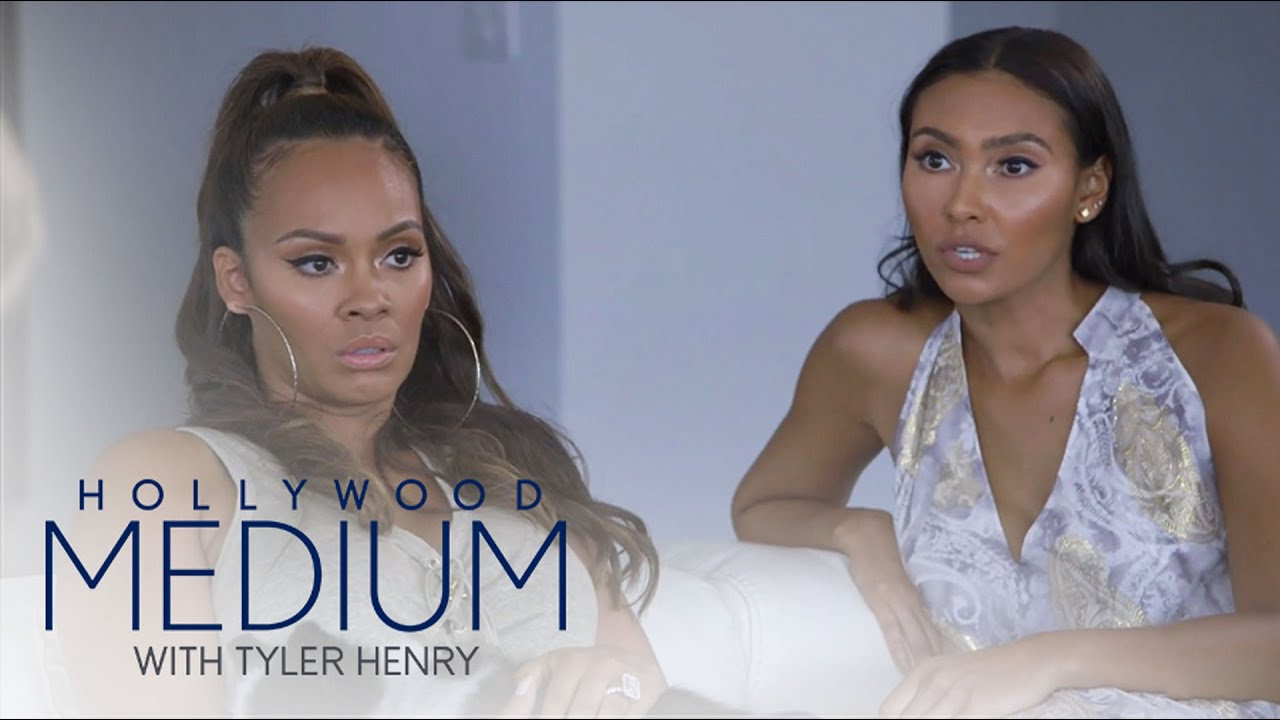 Tyler Henry Reads Evelyn Lozada and Daughter Shaniece | Hollywood Medium with Tyler Henry | E! 4