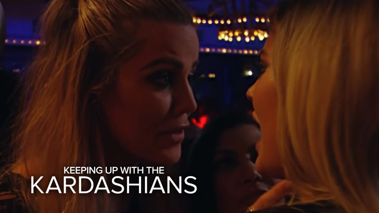 KUWTK |  Khloé Kardashian Pissed at Kylie Jenner for Ditching Them | E! 5