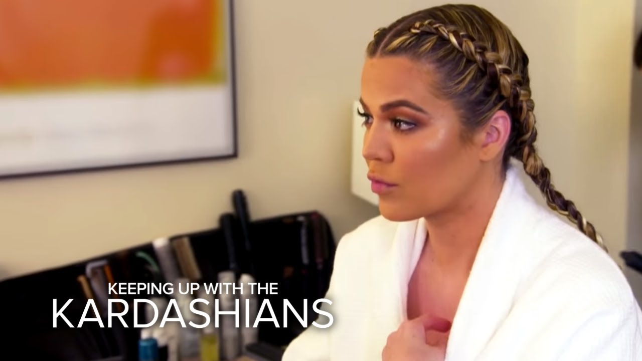KUWTK | Kim, Khloé and Kylie React to Rob Kardashian's Engagement | E! 5