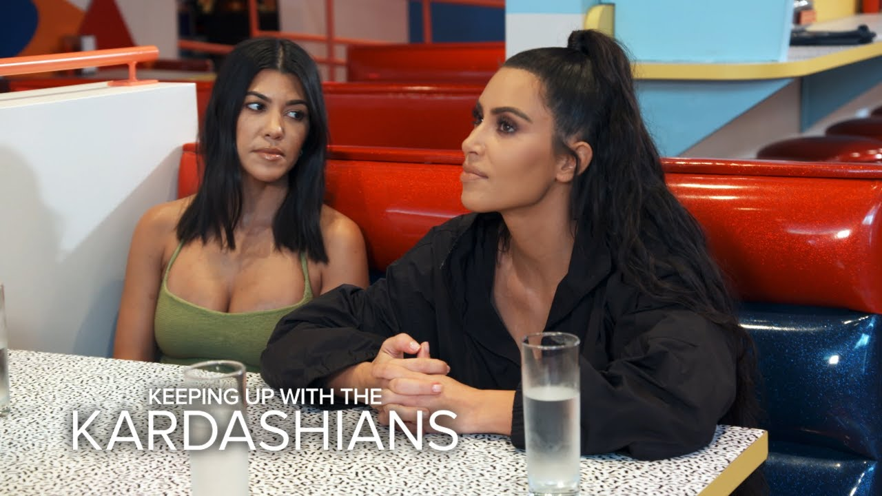 """KUWTK"" Sisters Travel Back in Time to ""Saved By the Bell"" Diner 