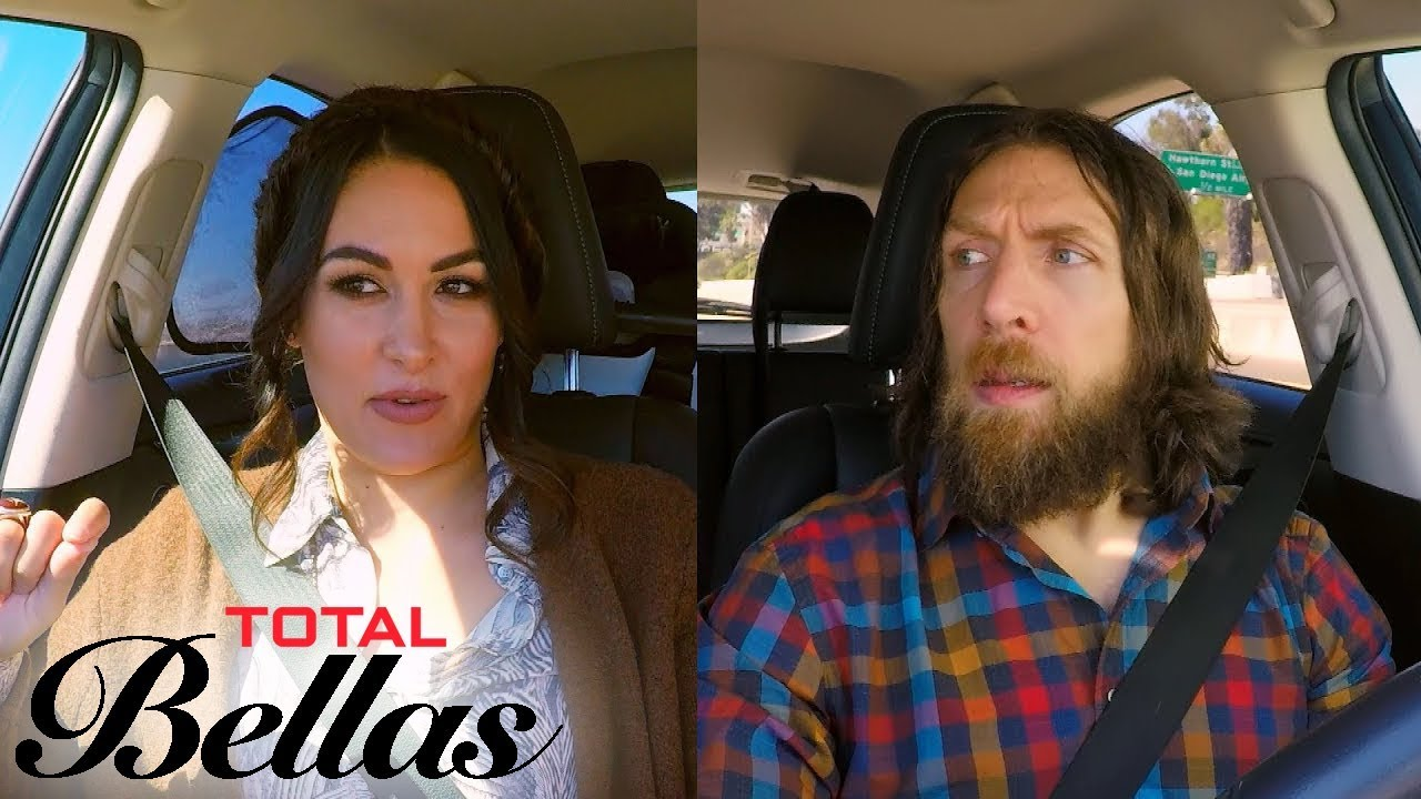 Brie Bella Gets Frustrated Driving With Slowpoke Daniel Bryan | Total Bellas | E! 3