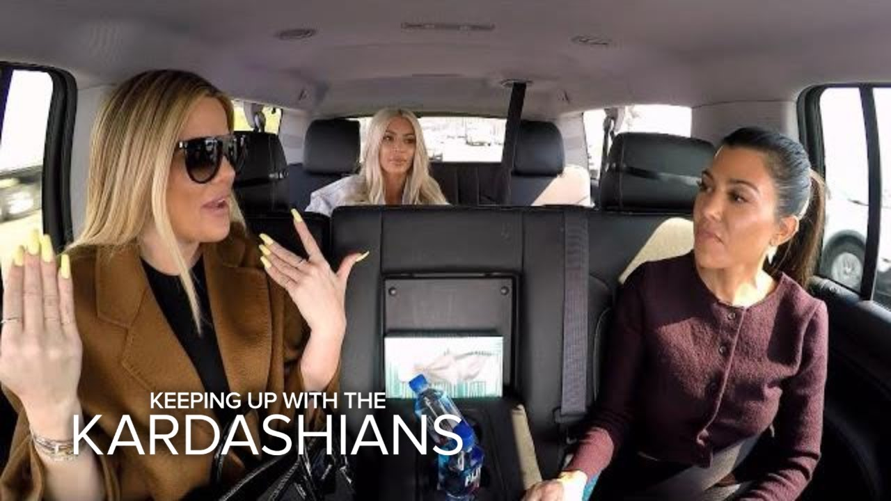 KUWTK | Kourtney Kardashian Accidentally Snapchats From Friend's Phone! | E! 1