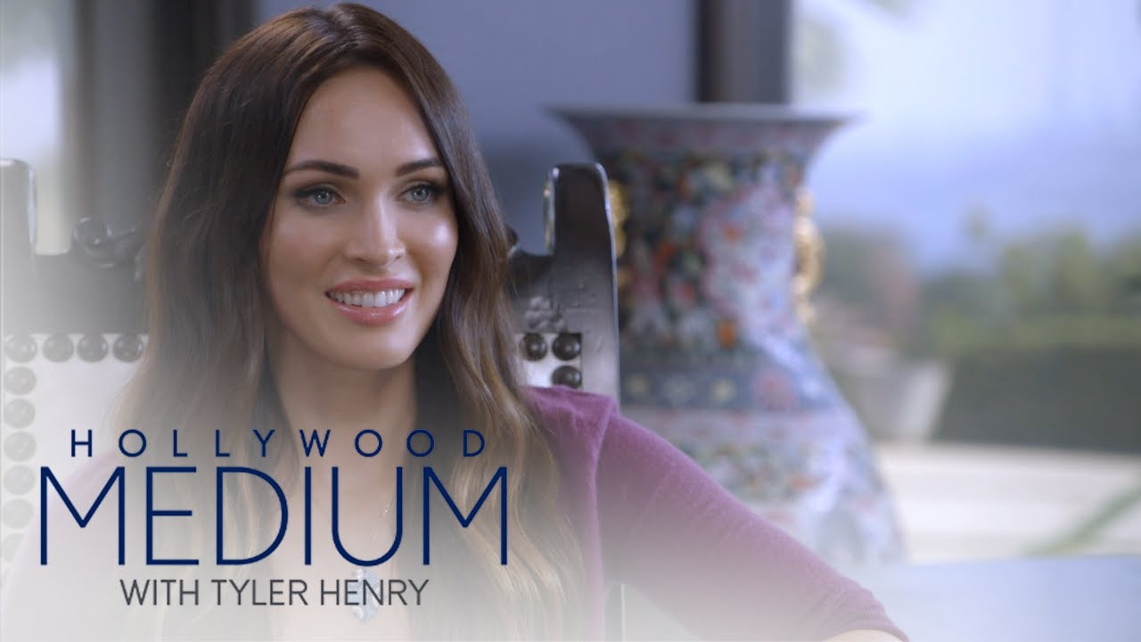 Megan Fox Receives an Inspiring Message From Tyler Henry | Hollywood Medium with Tyler Henry | E! 3