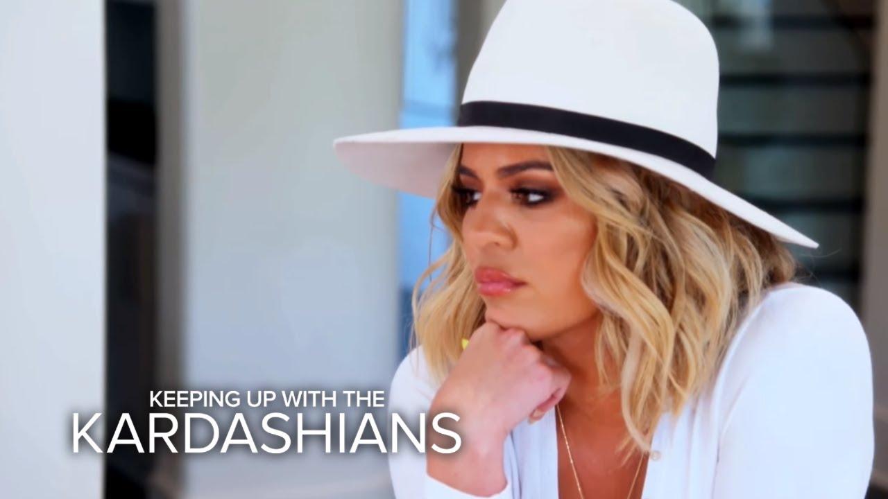 KUWTK | Khloé Kardashian's Peace Offering to Blac Chyna | E! 3