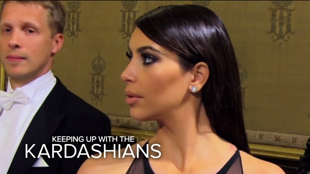 KUWTK | Racist Jokester Ruins Opera Ball for Kim Kardashian | E! 3
