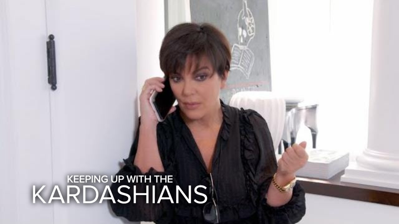 KUWTK | Kris Jenner Receives Emergency Call From Kendall | E! 5