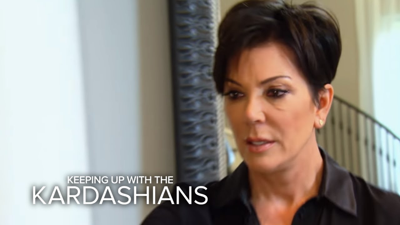 KUWTK | Kris Jenner Breaks Down Over Loss of Bruce | E! 4