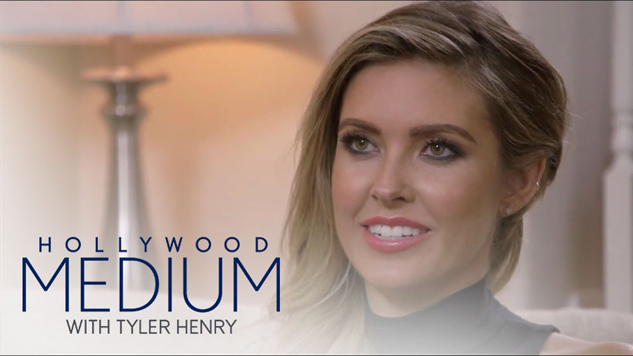 Tyler Henry Shocks Audrina Patridge With Unborn Baby News | Hollywood Medium with Tyler Henry | E! 5