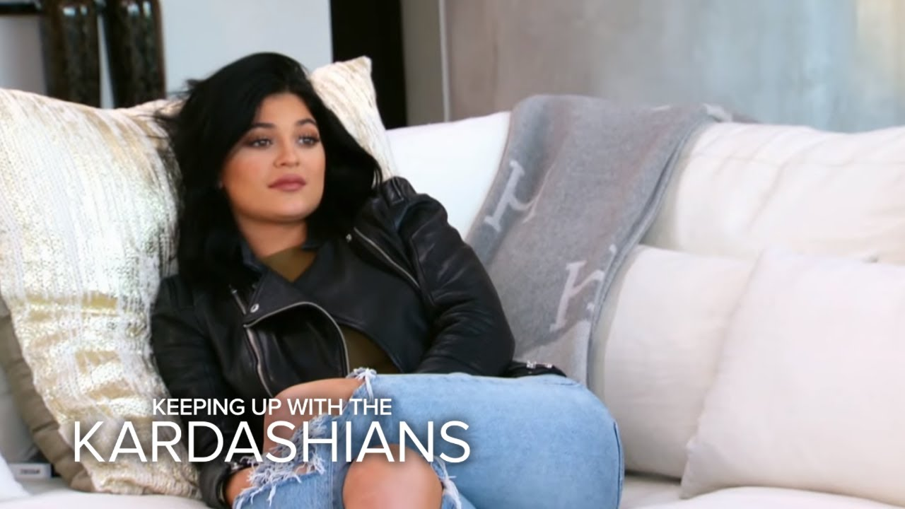 KUWTK | Kim K. Gives Kylie Jenner Sisterly Advice on Insecurities | E! 1
