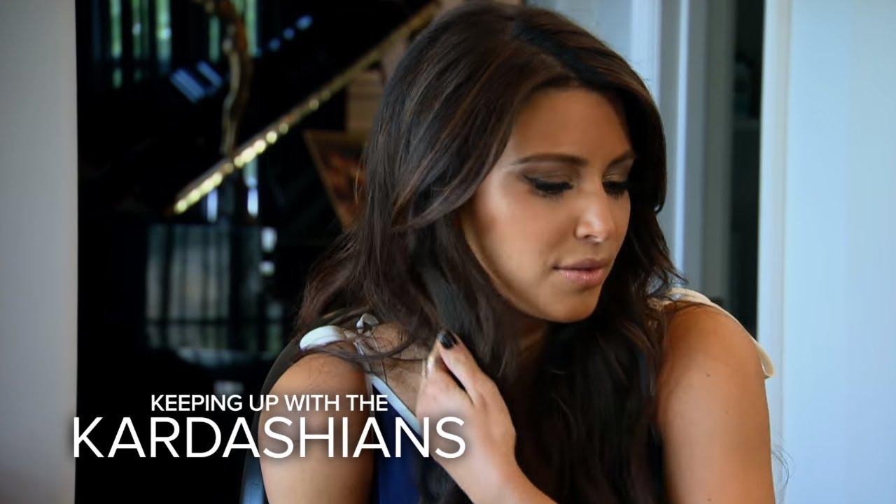 KUWTK | Kanye West Raps About Kim Kardashian | E! 4