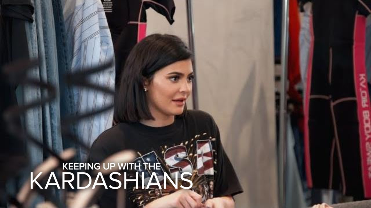KUWTK | Kylie Jenner Feels the Pressure to Snap Back After Baby | E! 5