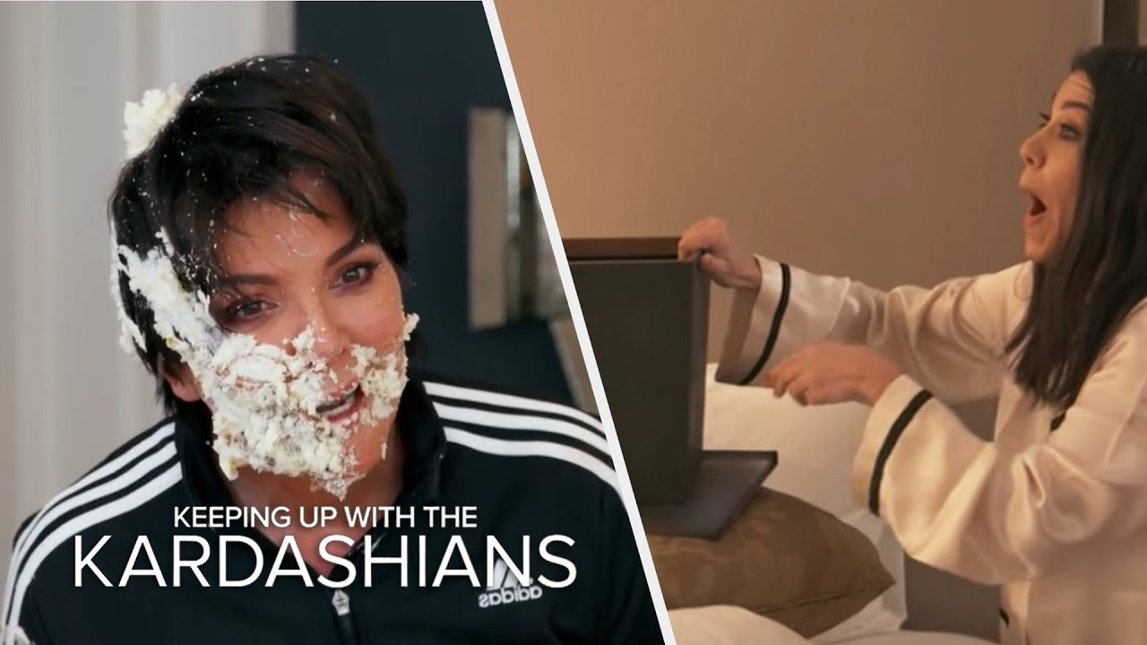 The Best Kardashian Family Pranks | KUWTK | E! 5