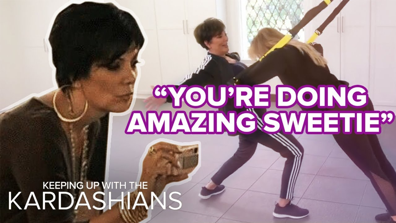 Proof That Kris Jenner Is All Our Moms | KUWTK | E! 2