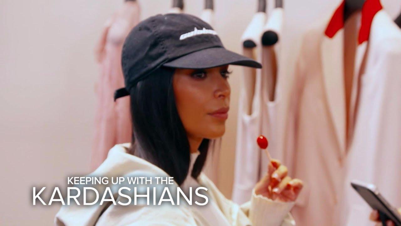 KUWTK | Kim Kardashian West's Shopping Trip Turns Scary | E! 1