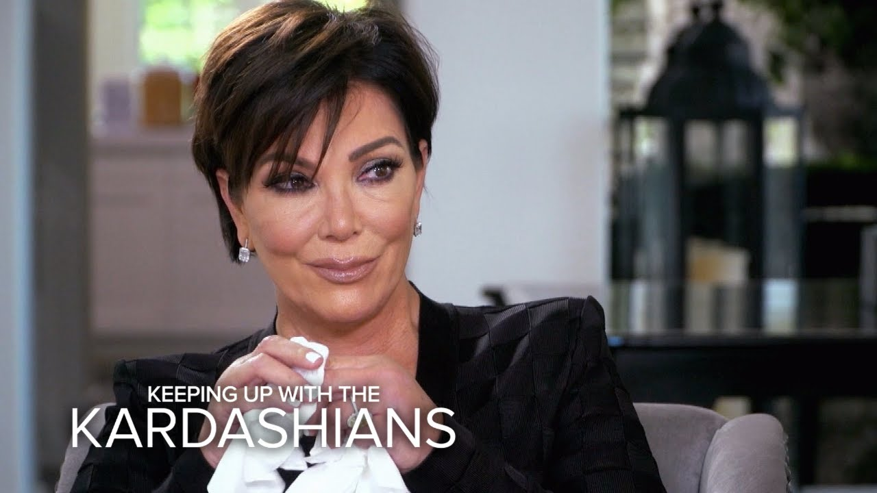 KUWTK | Kris Jenner Breaks Down Over Her Biggest Fear | E! 2