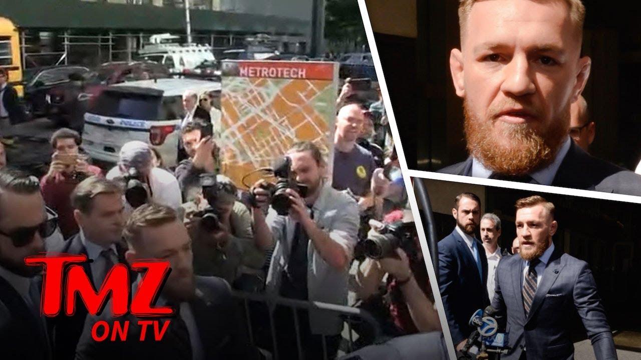 Conor McGregor at Court, 'I Regret My Actions' | TMZ TV 5