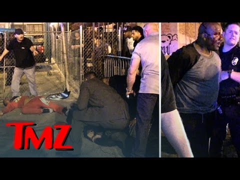 The Fight That Started The Game and T.I. INTENSE LAPD Standoff | TMZ 4