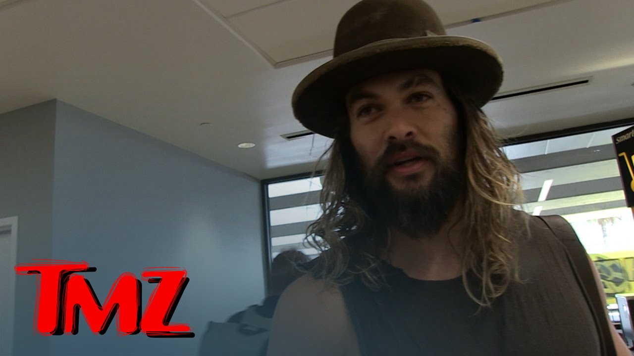 Jason Momoa -- I've Got a Brain Too! | TMZ 3