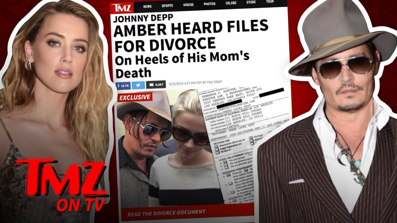 Johnny and Amber – One Unhappy Family | TMZ TV 5