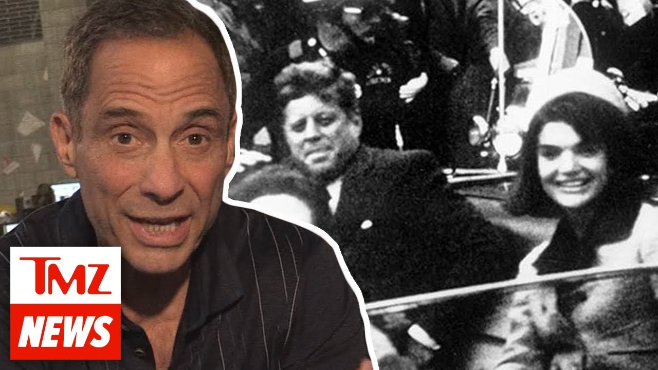 Harvey's Thoughts On The JFK Assassination Documents Being Released I TMZ 4