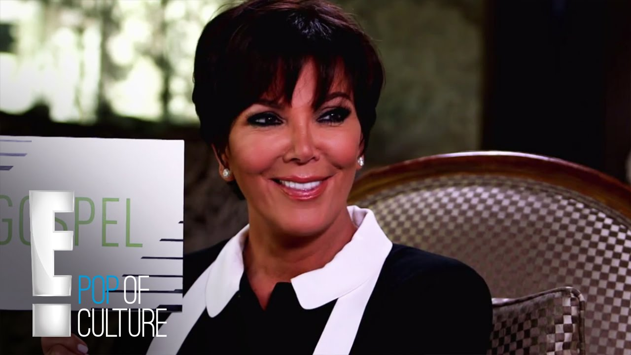 Kris Jenner Plays Gospel or Gossip | E! Entertainment 5