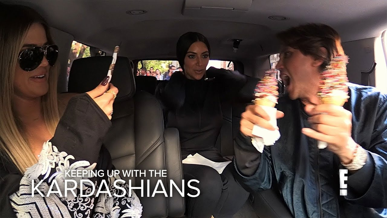 KUWTK | Khloe & Kim Kardashian Go on Food Binge Before Diet | E! 1