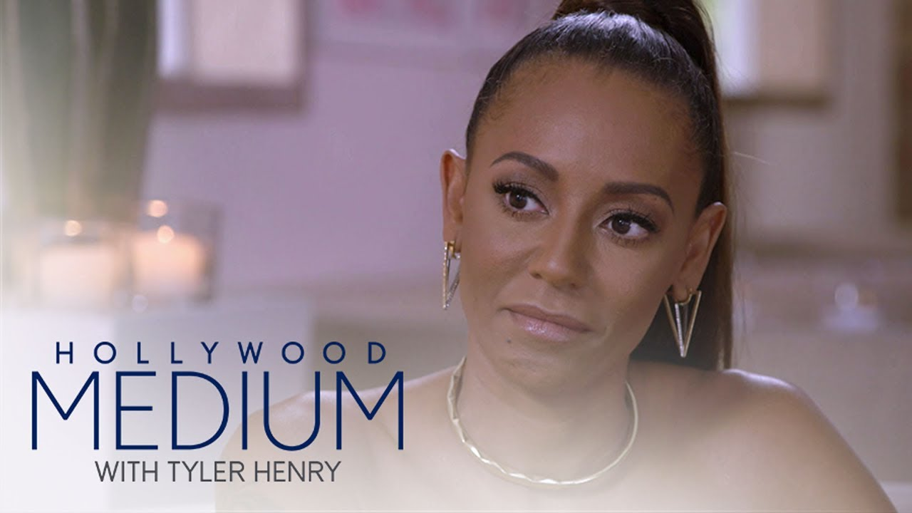 Mel B Gets Emotional Hearing About Her Late Grandfather | Hollywood Medium with Tyler Henry | E! 3