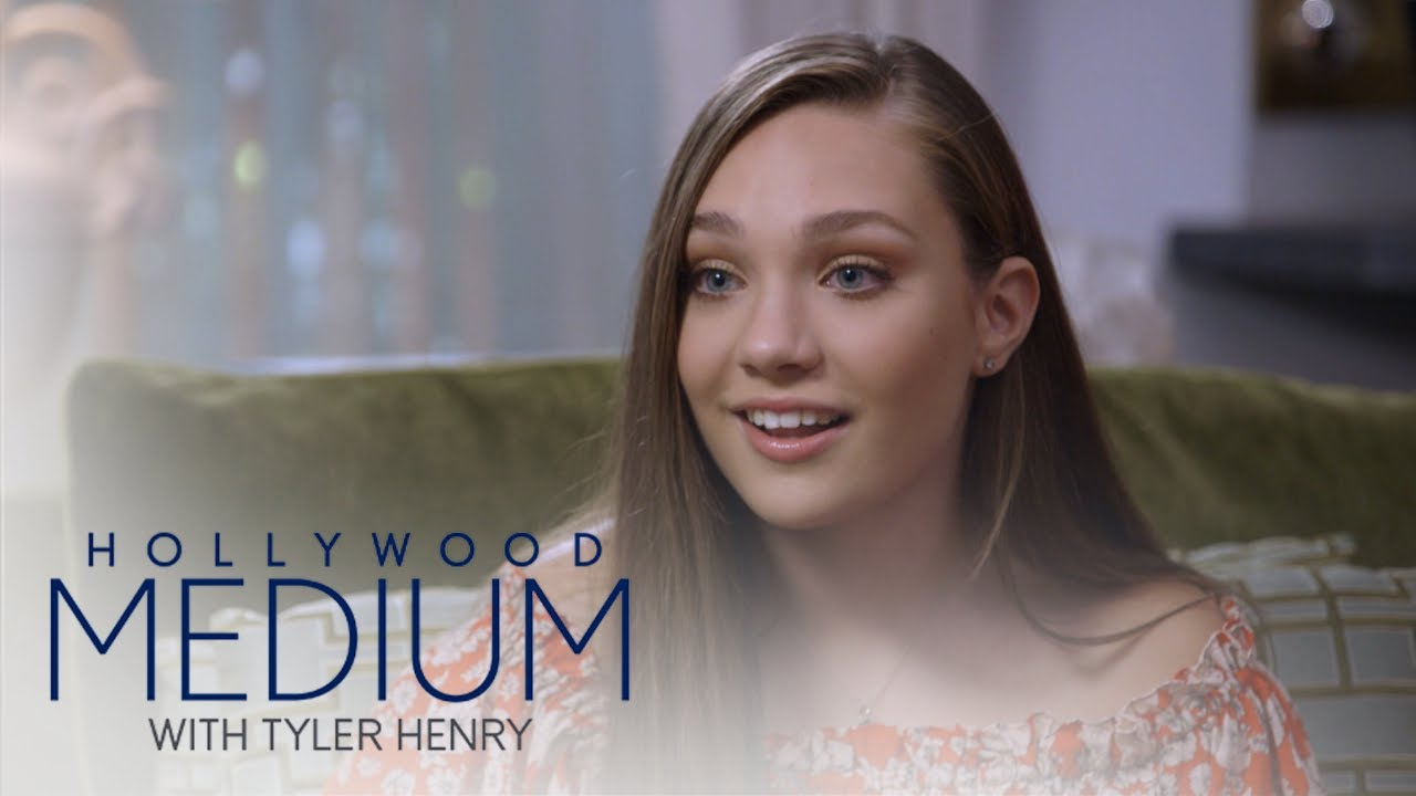 Maddie Ziegler Learns Her Grandma Is Her Guardian Angel | Hollywood Medium with Tyler Henry | E! 2
