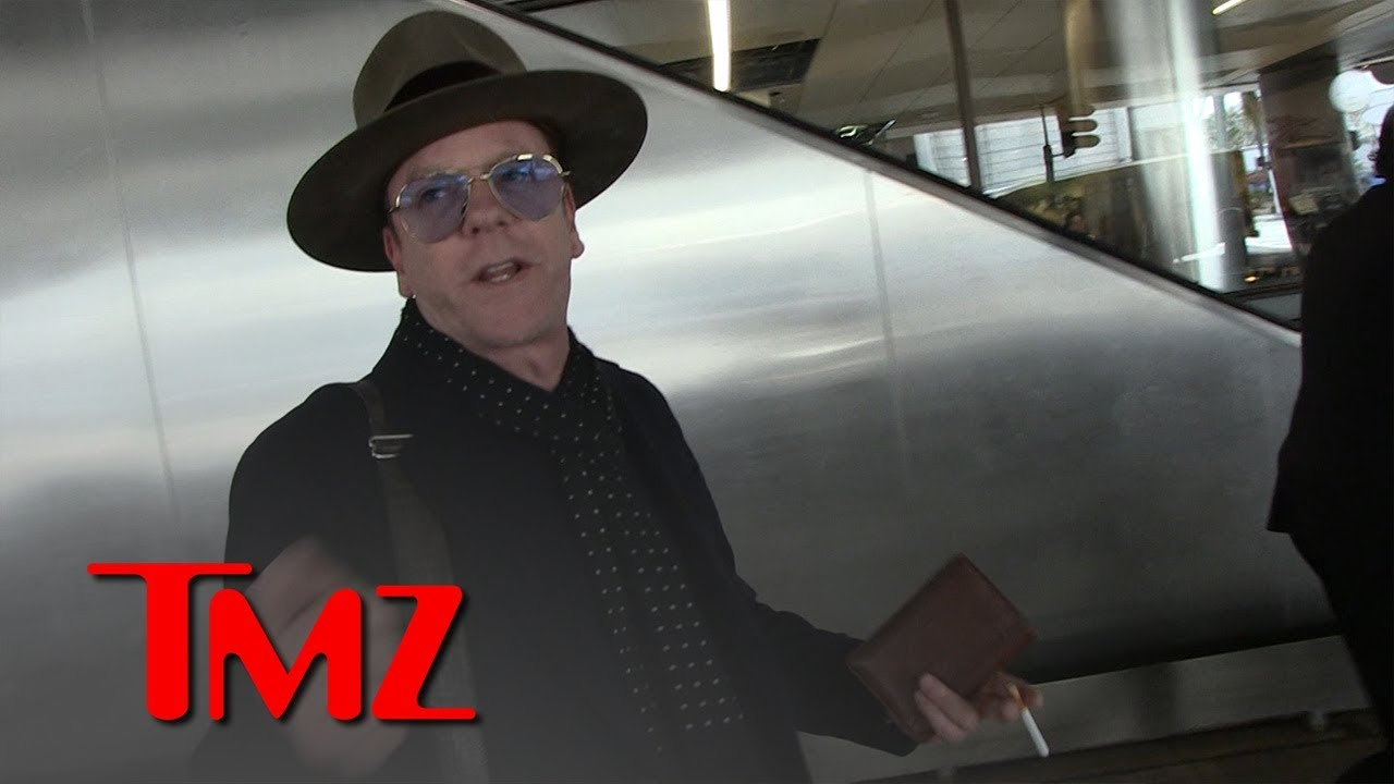 Kiefer Sutherland Says Obama Connection Keeps 'Designated Survivor' Honest | TMZ 4