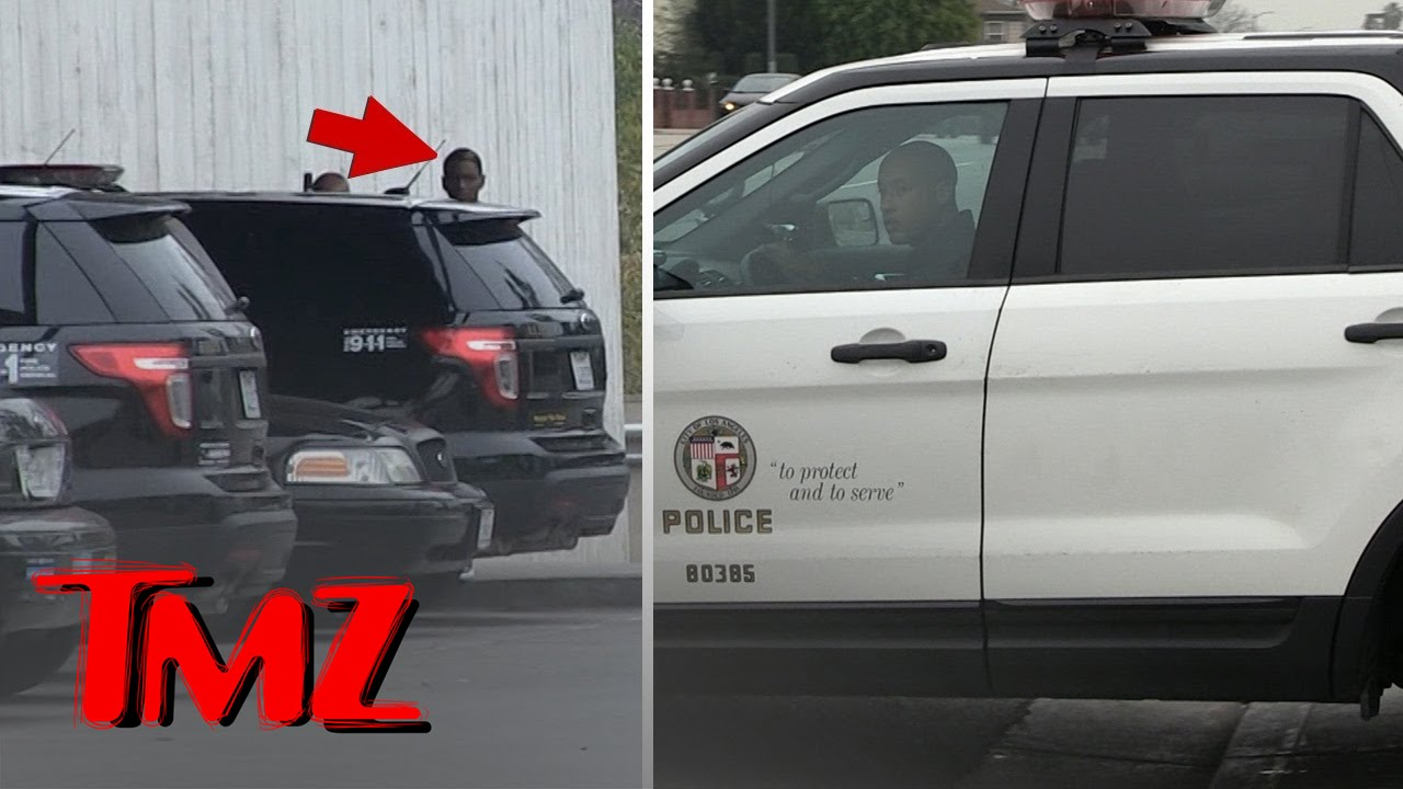 SOULJA BOY -- GETS POLICE ESCORT ... From Station to Jail Cell | TMZ 3