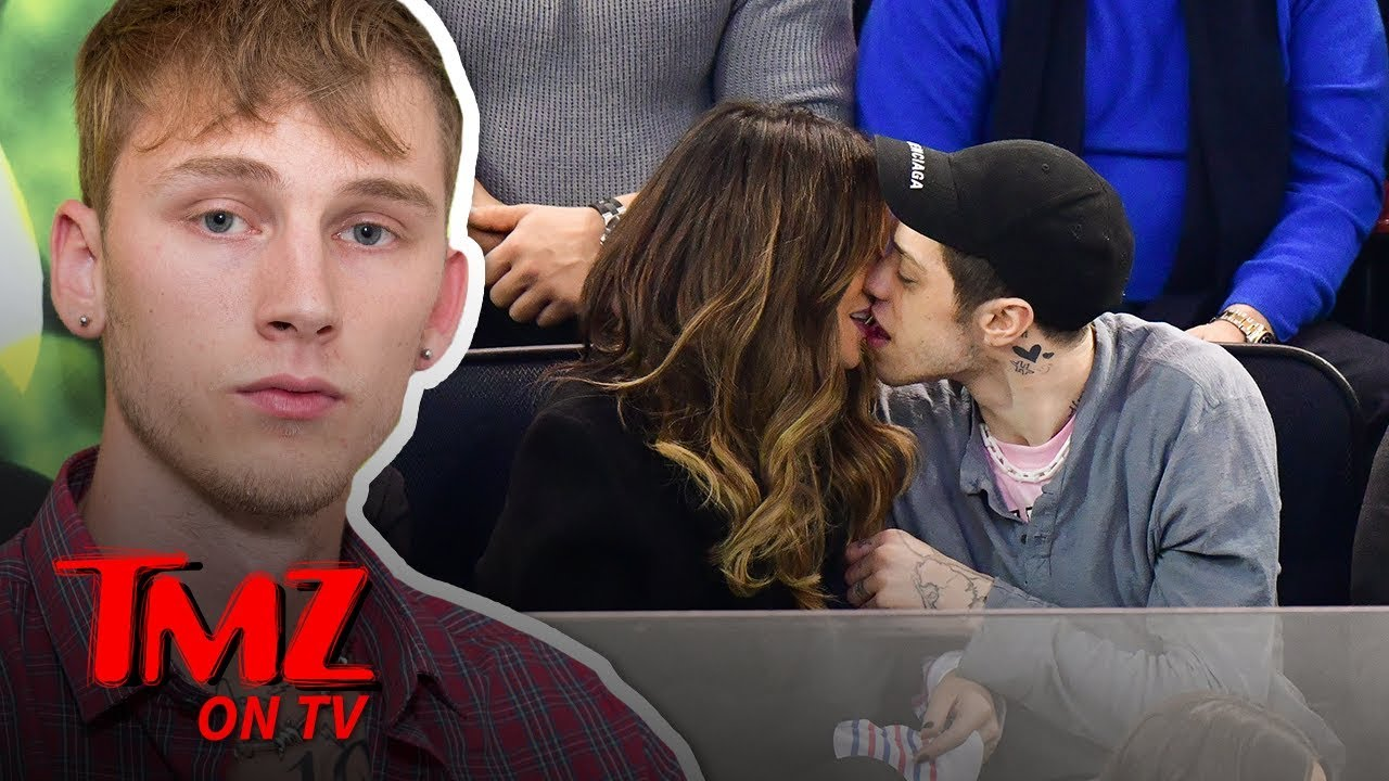 MGK Approves of Pete Davidson Dating Kate Beckinsale | TMZ TV 3