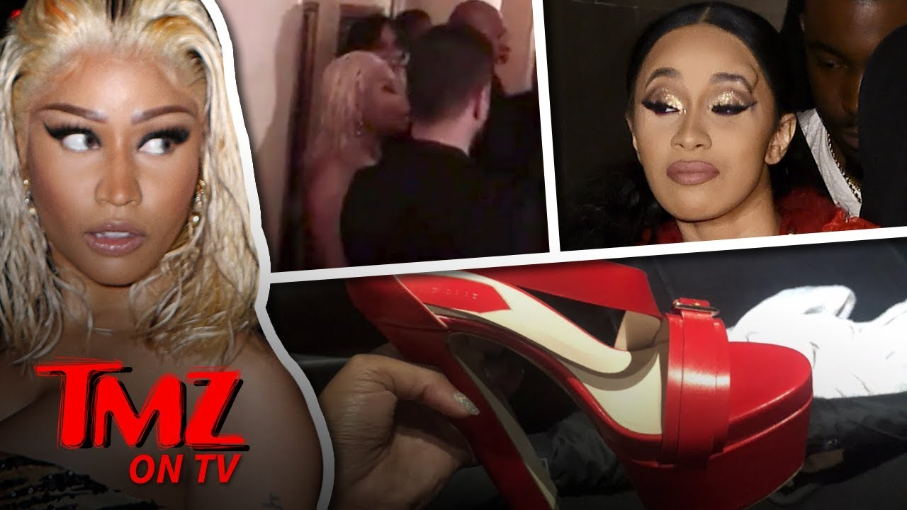 Cardi B Attacks Nicki Minaj! | TMZ TV 5