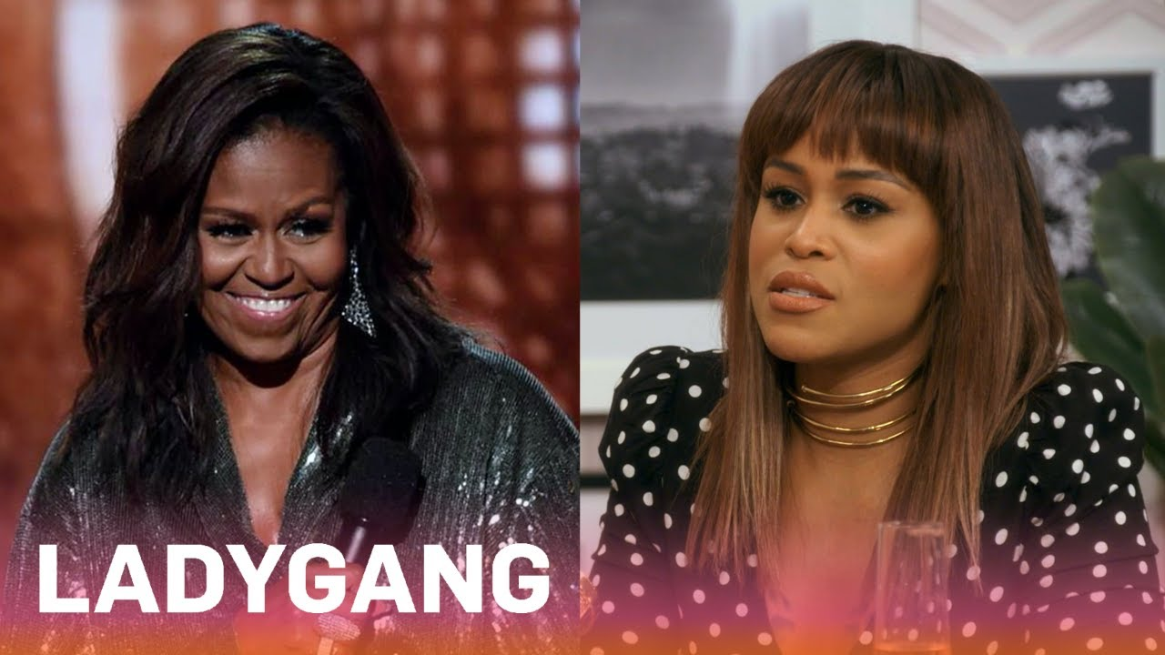 Is Eve Frenemies With Michelle Obama?! | LadyGang | E! 3