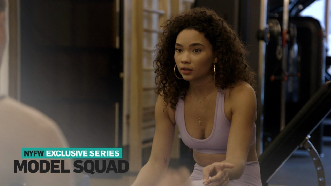 Ashley Moore Meets a Fellow Model at the Gym | Model Squad | E! 4