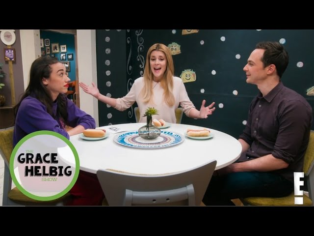 "The Grace Helbig Show | Jim Parsons and Miranda Sings Join Grace for ""Whelp""! 