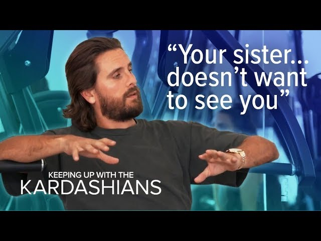 Scott Disick Gets Real to Kim About Tristan & Khloe Drama | KUWTK | E! 2