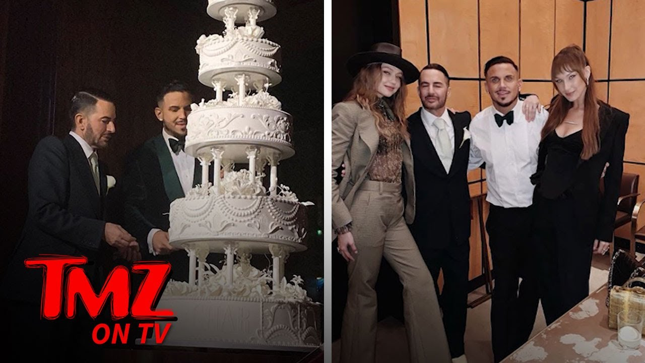 Marc Jacobs Gets Married in Lavish New York Wedding | TMZ TV 4