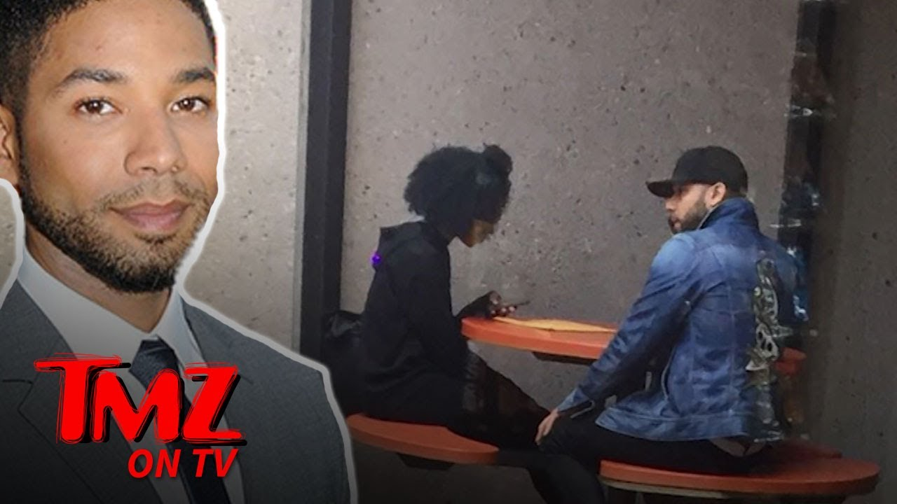 Jussie Smollett Getting Back to Normal Life, Running Errands at Post Office | TMZ TV 4