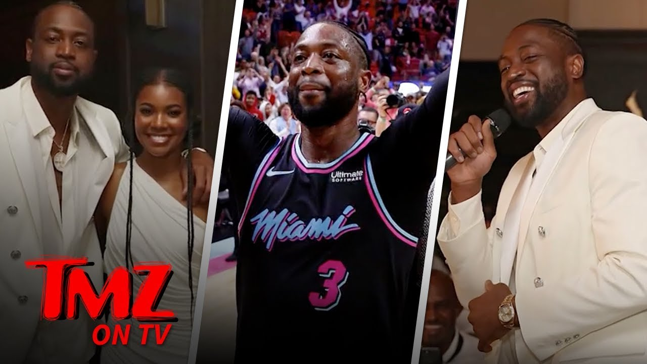 Dwayne Wade Ends His Career With A Bang! | TMZ TV 5