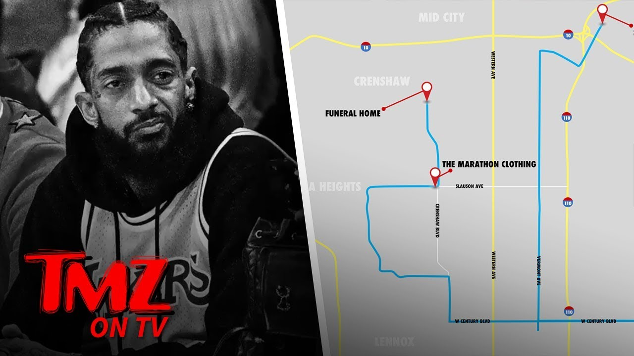 Nipsey Hussle's Funeral Procession Will Pass By His Shooting Location | TMZ TV 1