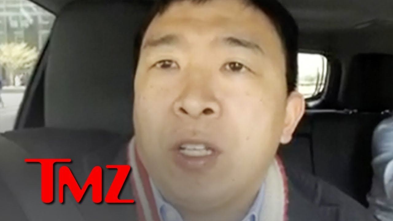 Presidential Candidate Andrew Yang Defends Plan to Give $12k:Yr to Everyone | TMZ 5