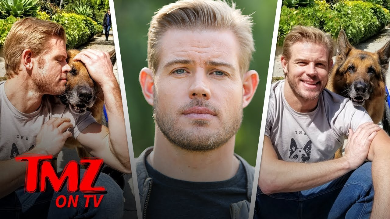 '90210' Star Trevor Donovan Donates Wheelchair to Paralyzed K-9 | TMZ TV 1