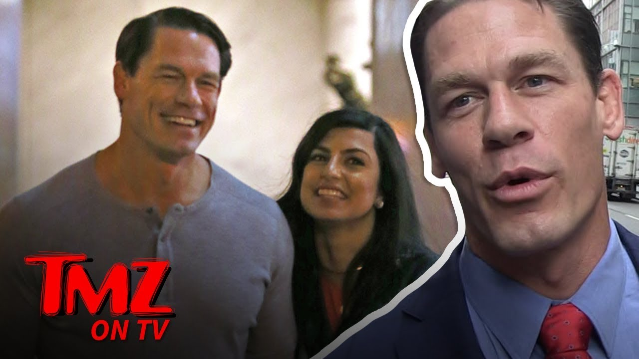 John Cena On A Date With A Mystery Chick! | TMZ TV 2