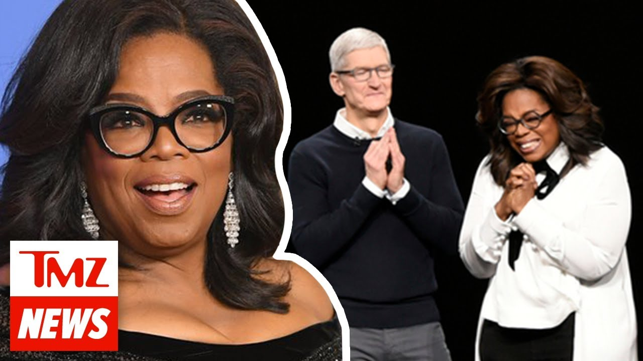 Oprah Says Apple TV Has a Billion Pockets Than Her OWN for New Series | TMZ NEWSROOM TODAY 2