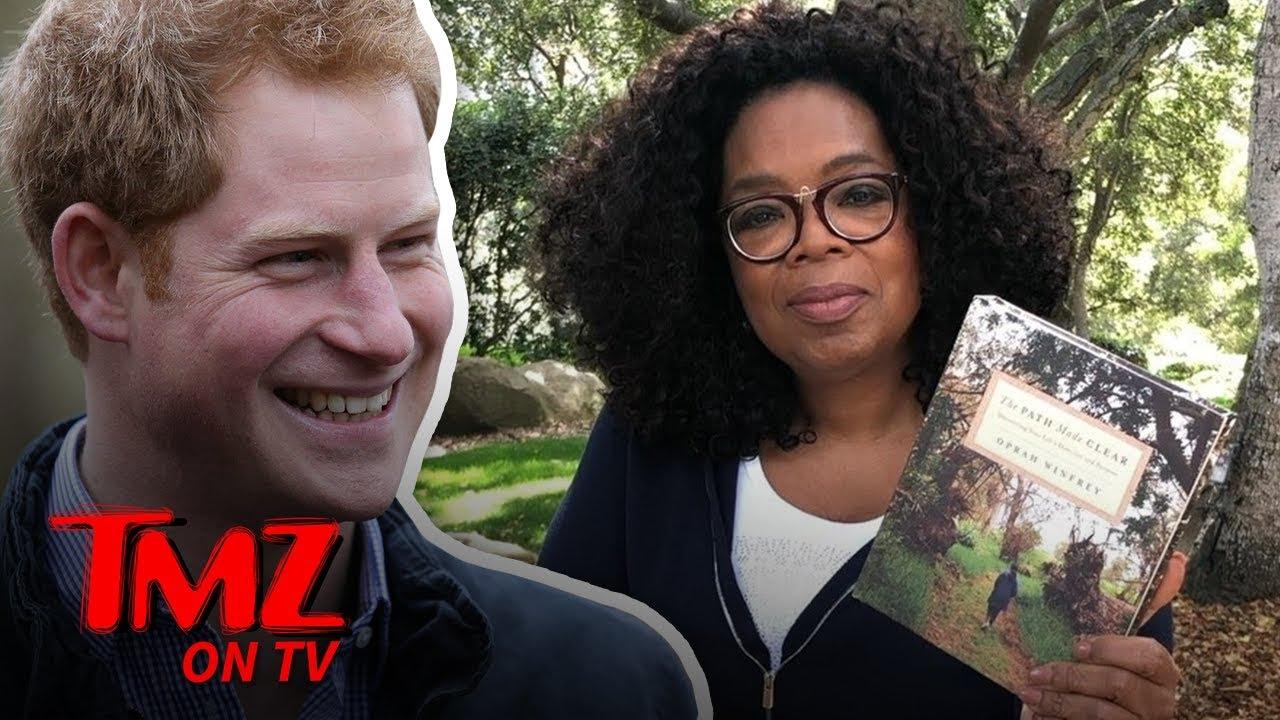 Prince Harry & Oprah Team Up for Mental Health Series on Apple TV | TMZ TV 1