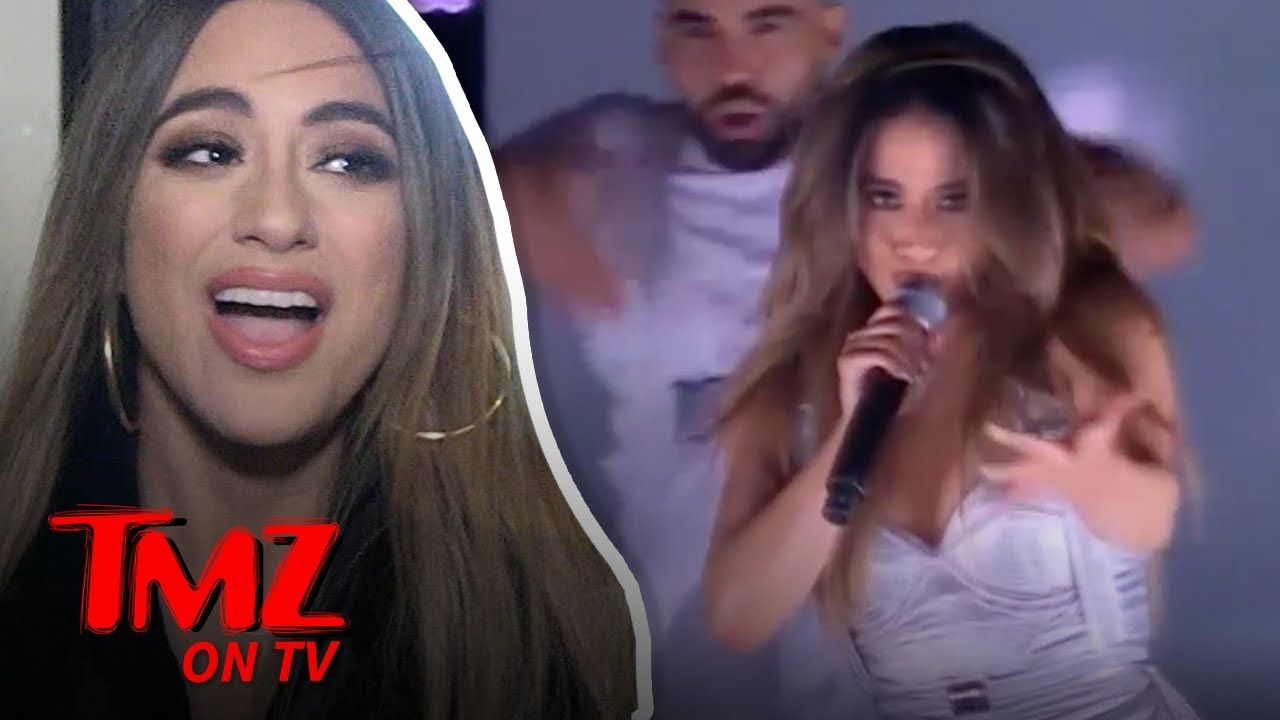 Ally Brooke Shows Us Her Pre-show Ritual | TMZ TV 1