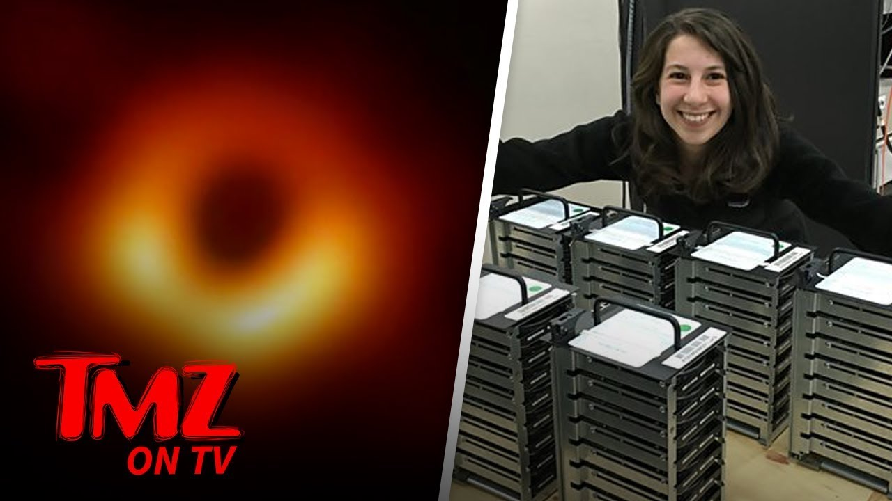 First-Ever Black Hole Image Captured | TMZ TV 1