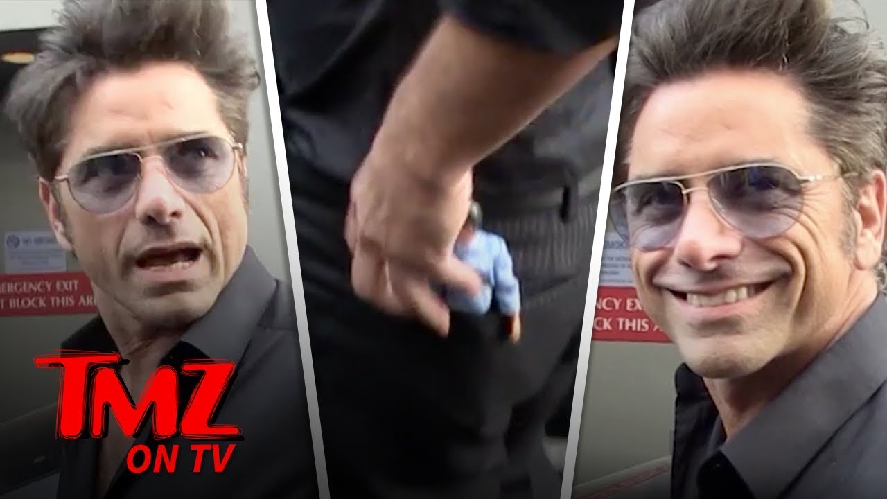 John Stamos Has A Little Bob Saget Doll In His Pocket | TMZ TV 3